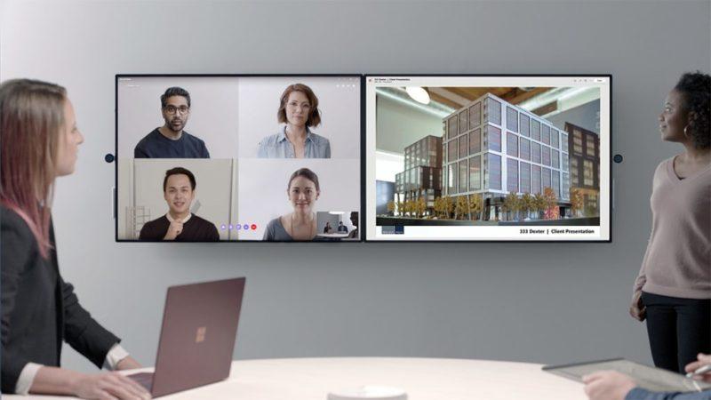 Microsoft presenta el Surface Hub 2 con pantalla 4K de 50.5 pulgadas