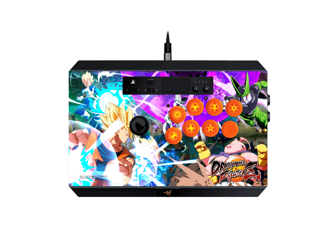 Razer y Bandai Namco presentan sus los arcade sticks de Dragon Ball Fighterz para Xbox One y PS4