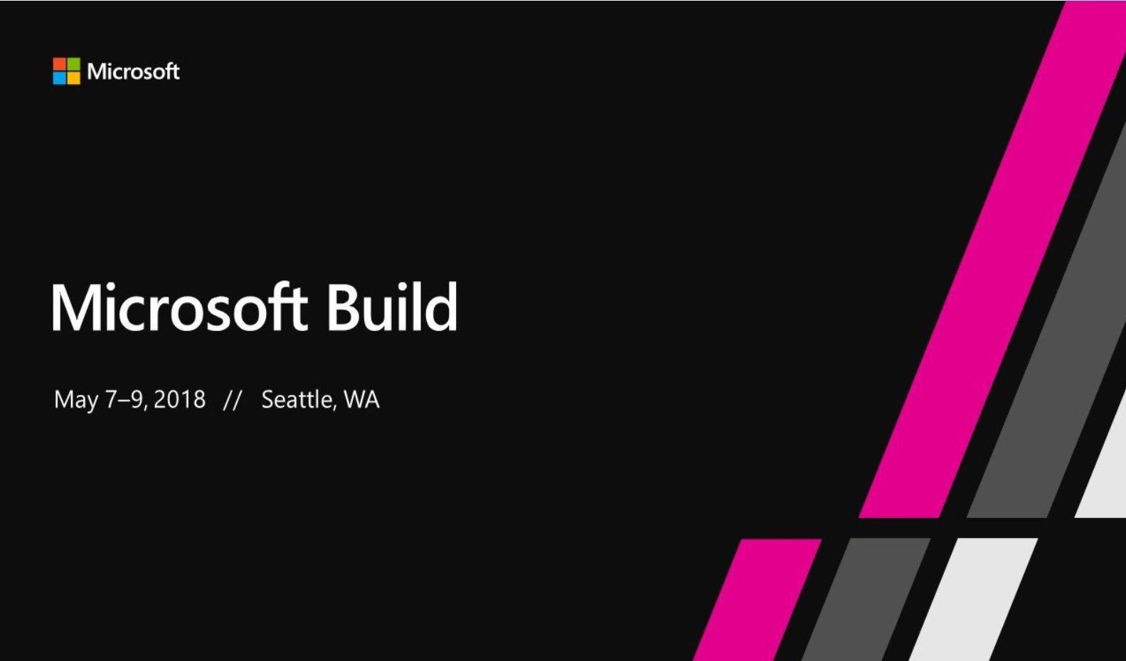 Microsoft Build 2018 Vision Keynote