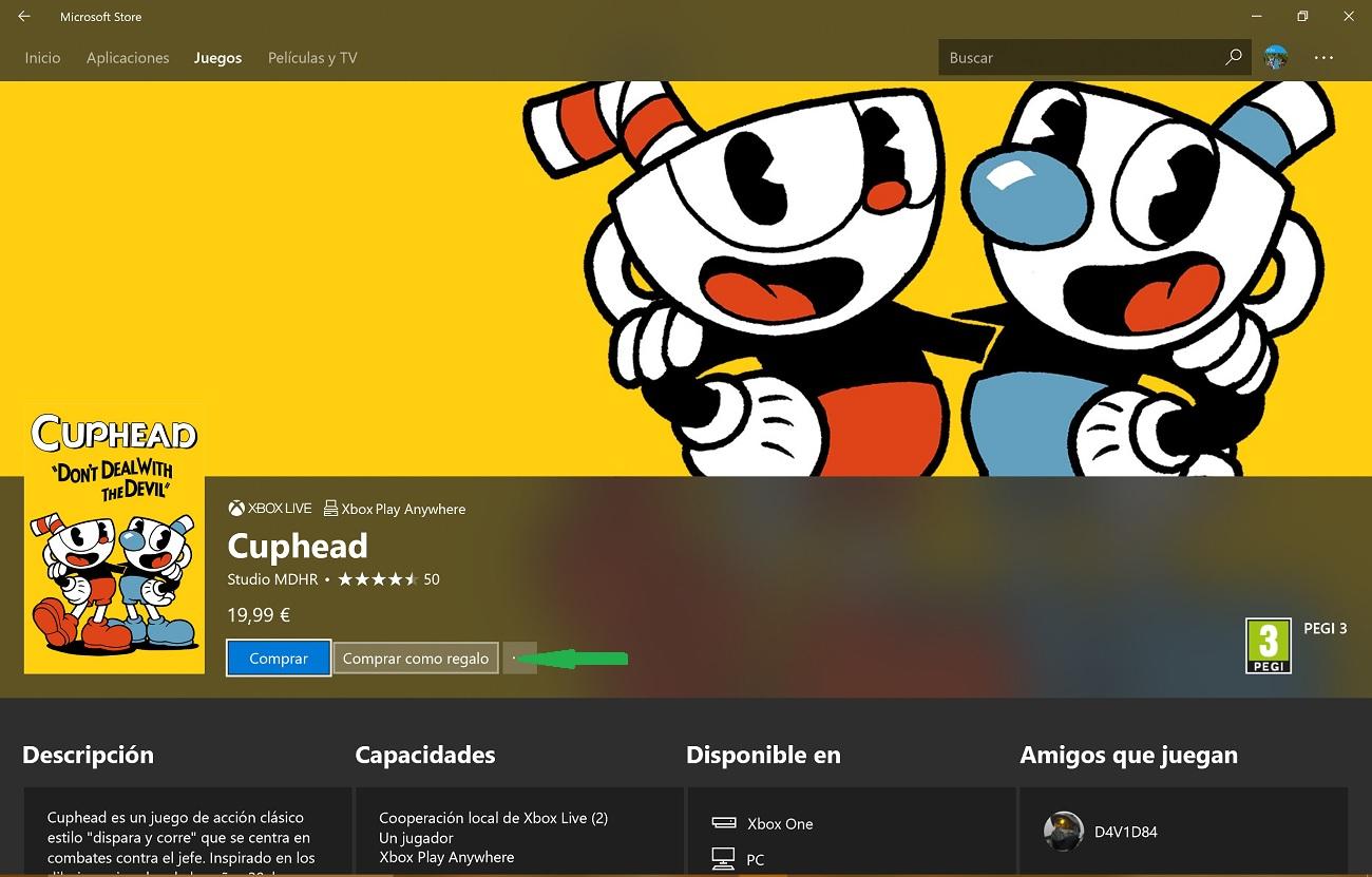 Ya puedes regalar Juegos para PC desde la Microsoft Store