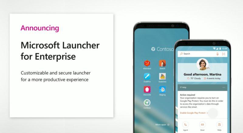 Launcher for Enterprise, la nueva versión del lanzador de aplicaciones de Microsoft, ahora para empresas