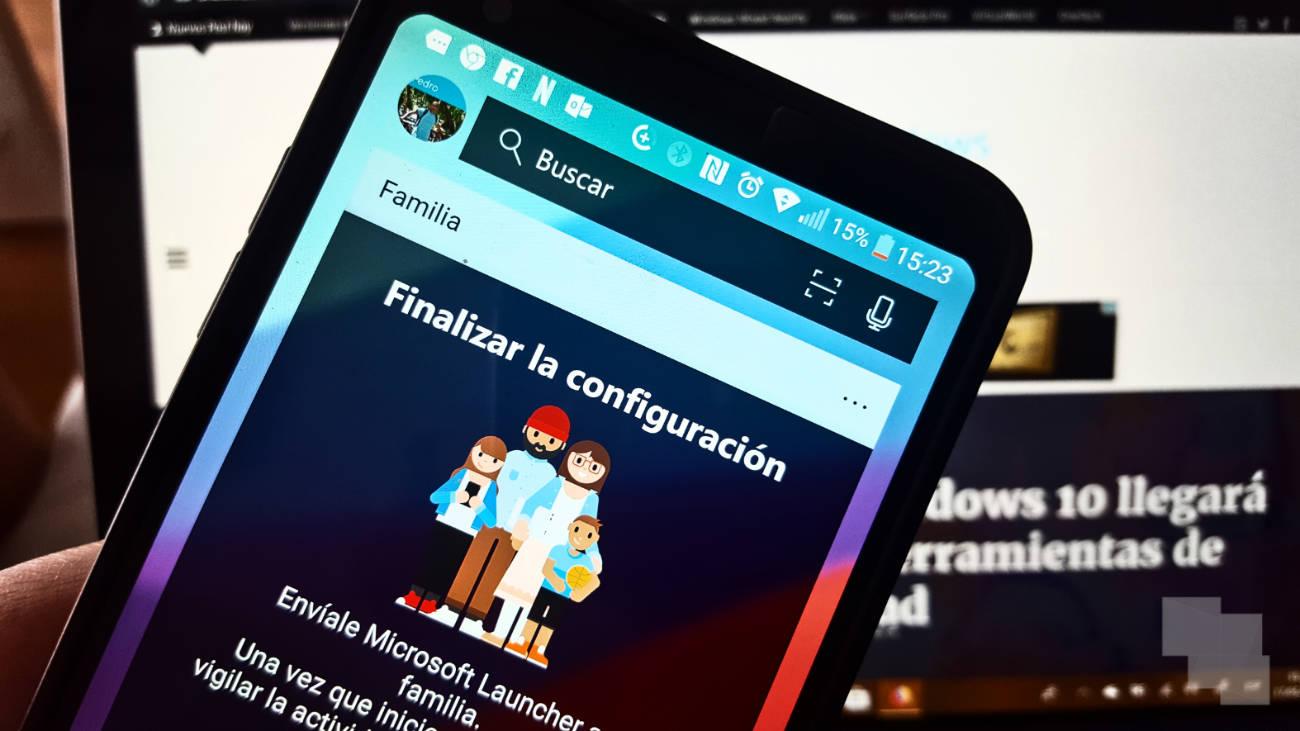 La beta de Microsoft Launcher para Android ya permite a los padres saber que están haciendo sus hijos