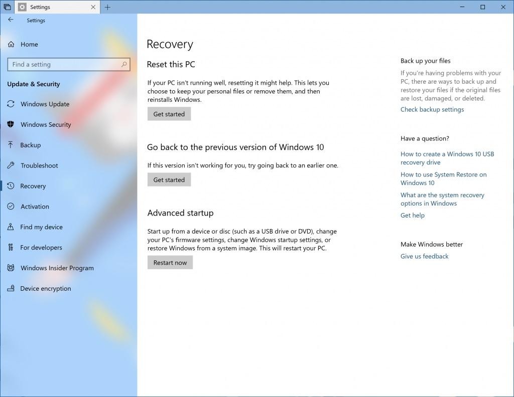 Windows 10 Insider Preview Build 17666 (Redstone 5) se lanza en los anillos rápido y Skip Ahead