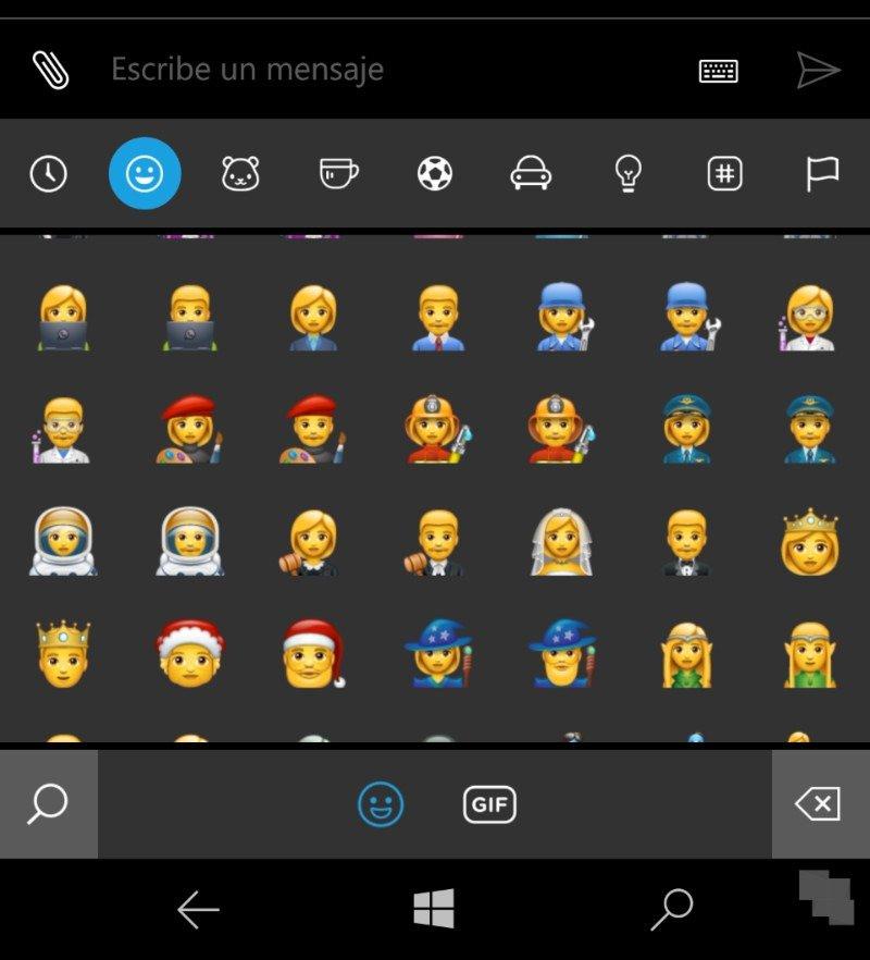 WhatsApp se actualiza trayendo sus nuevos emoticonos a los móviles Windows