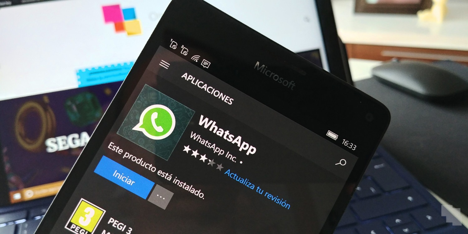 WhatsApp Beta actualiza su aplicación para móviles Windows