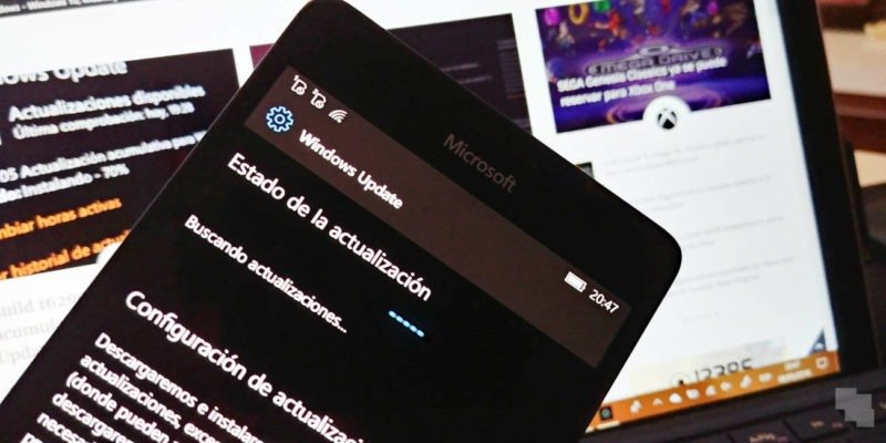 windows 10(diez) mobile creators update