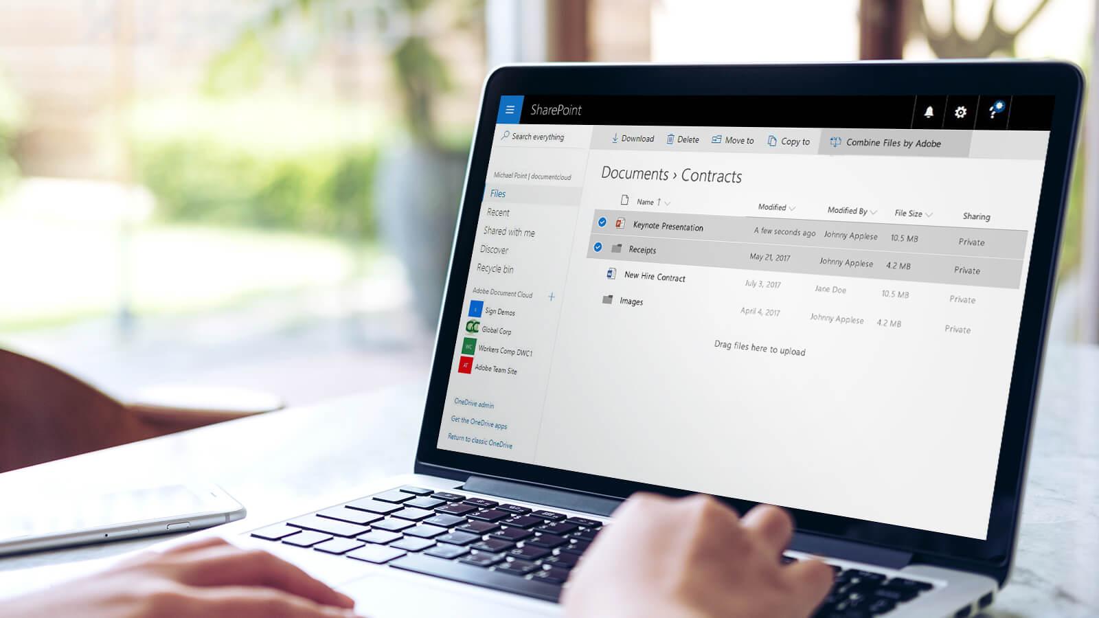 Adobe mejora la integración de sus servicios PDF con Office 365
