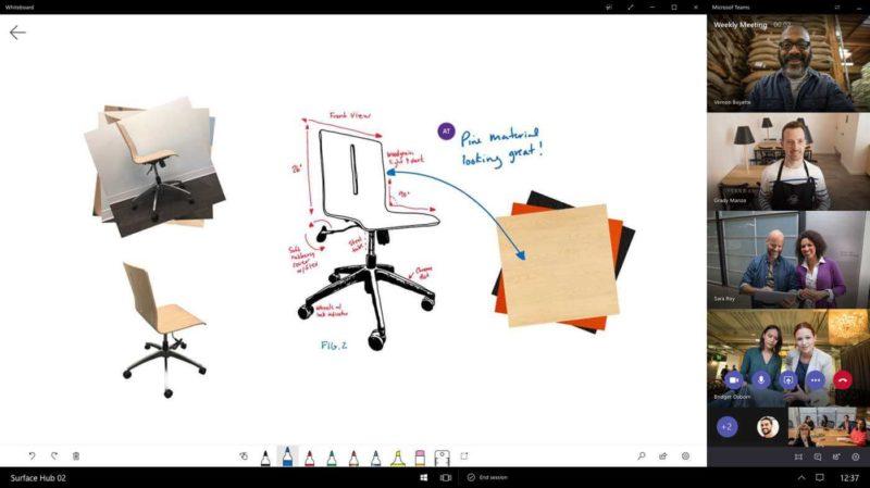 Microsoft Teams llega para Surface Hub en forma de Preview