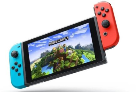 Minecraft en Nintendo Switch