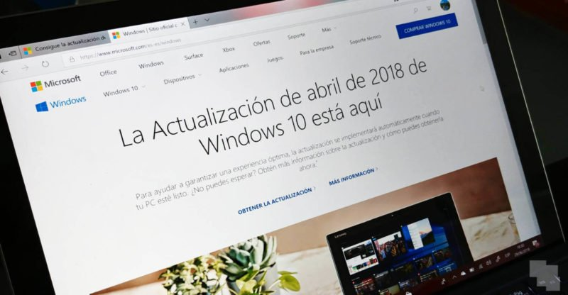 Build 17134.191 de Windows 10 April 2018 Update ya disponible como acumulativa