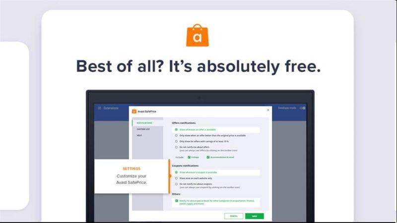 La extensión Avast SafePrice llega a la tienda de Windows 10