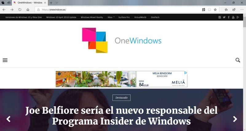 Microsoft Edge se podrá descargar pronto como aplicación independiente