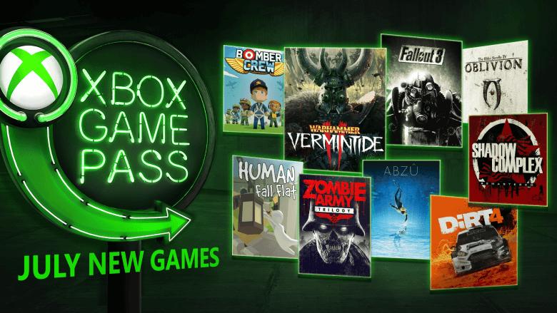 Warhammer: Vermintide 2, ABZU, Fallout 3 y más juegos en Julio para Xbox Game Pass