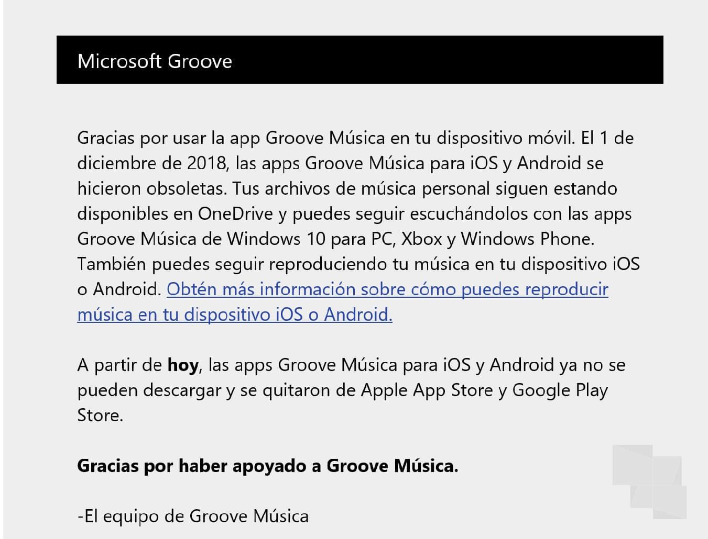 Groove Música