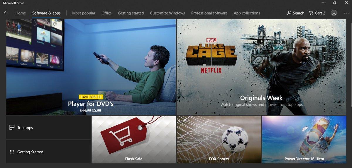Lista de deseos y otras novedades que están preparando para la Tienda de Microsoft