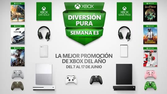 """No dejes pasar la """"mejor promoción de ofertas de Xbox del año"""""""