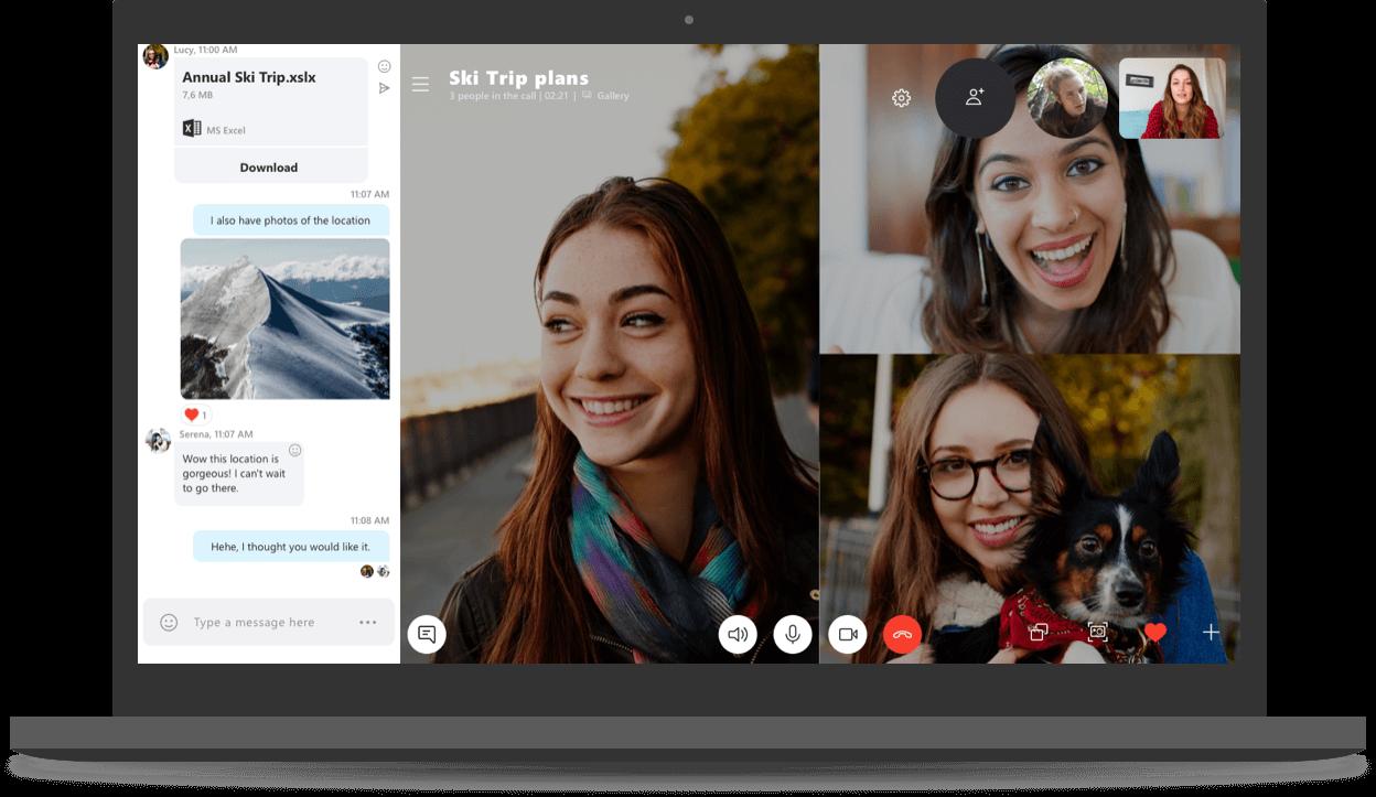 Skype Preview ya permite archivar conversaciones