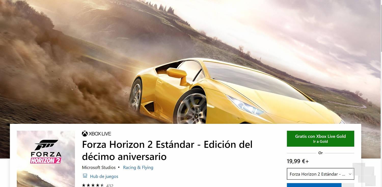 Forza Horizon 2 y Dead Space 3, descargalos gratis con Xbox Live Gold