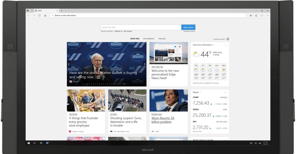 Microsoft lanza la Build 18204, la primera de la rama 19H1 para Skip Ahead y la Build 17723 para el anillo rápido
