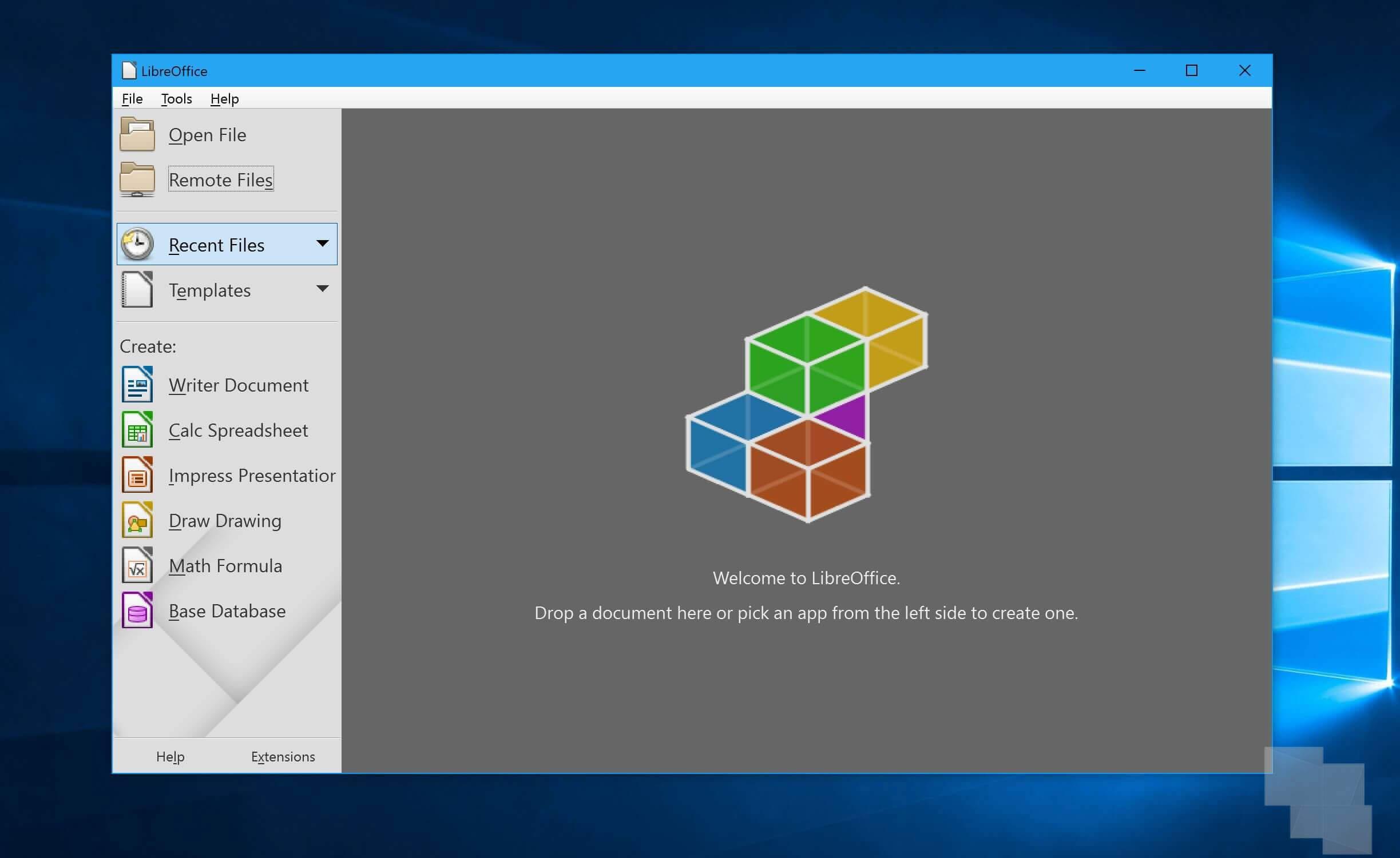LibreOffice aparece en la tienda de Windows 10, pero mejor espera antes de descargar [Actualizado x2]