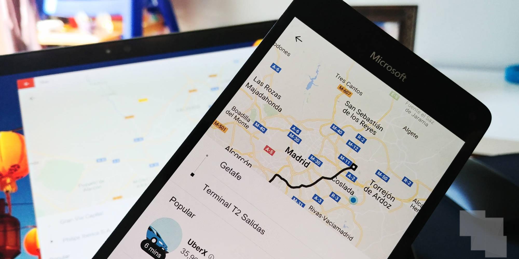 Uber actualiza su aplicación y pasa a ser PWA para Windows