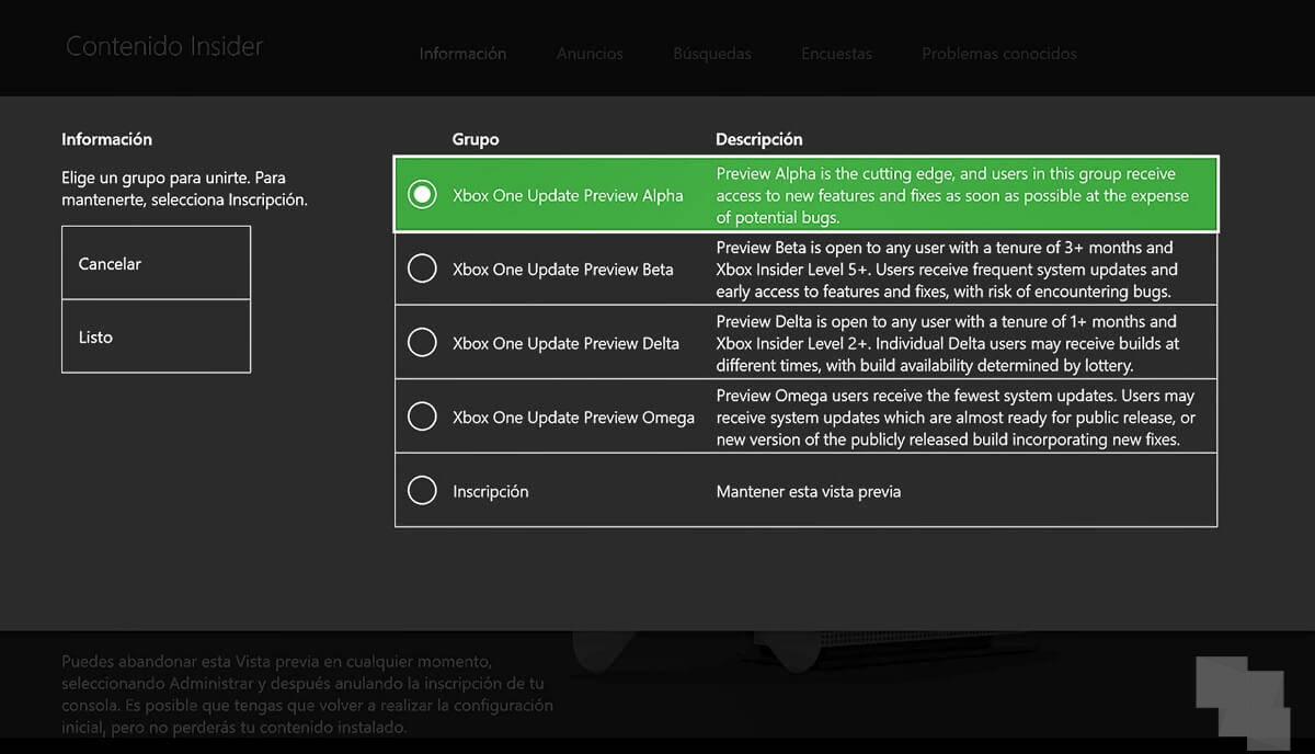 Xbox lanza una nueva Build Alpha y aclara donde podemos ver los nuevos avatares