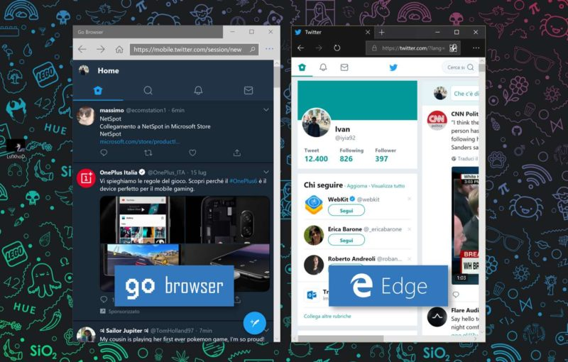 Go Browser un nuevo navegador diseñado para tablets con Windows 10