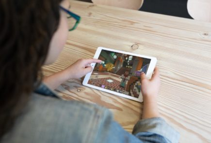 Minecraft iPad