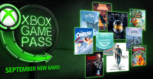 Nuevos juegos para Xbox Game Pass con Halo: The Master Chief Collection, Quantum Break, Onrush y más