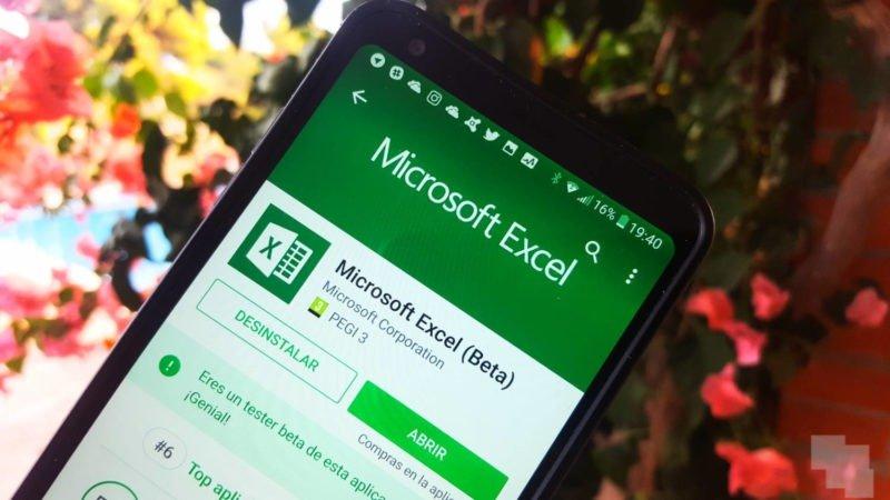 Excel alcanza los mil millones de descargas en Android
