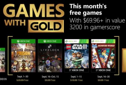 games with gold septiembre