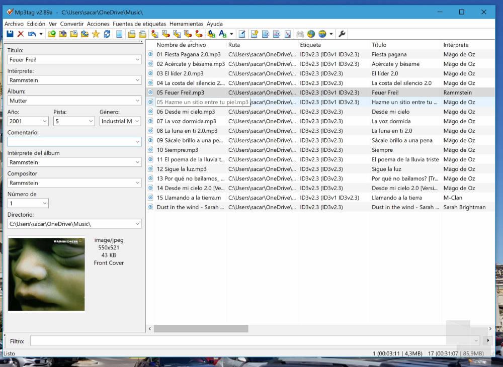 Descargar ya el popular editor Mp3tag para Windows 10