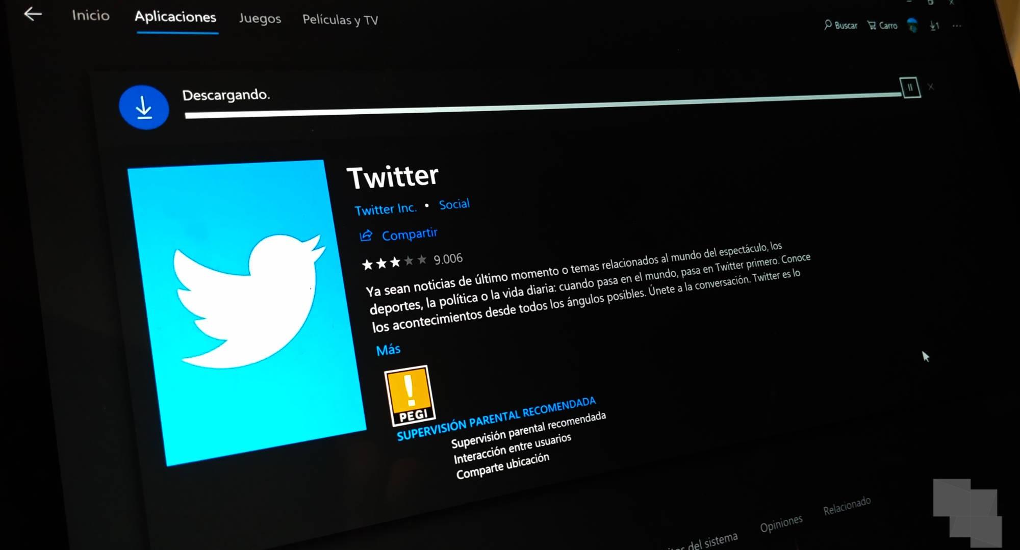 Twitter actualiza su aplicación PWA para Windows 10