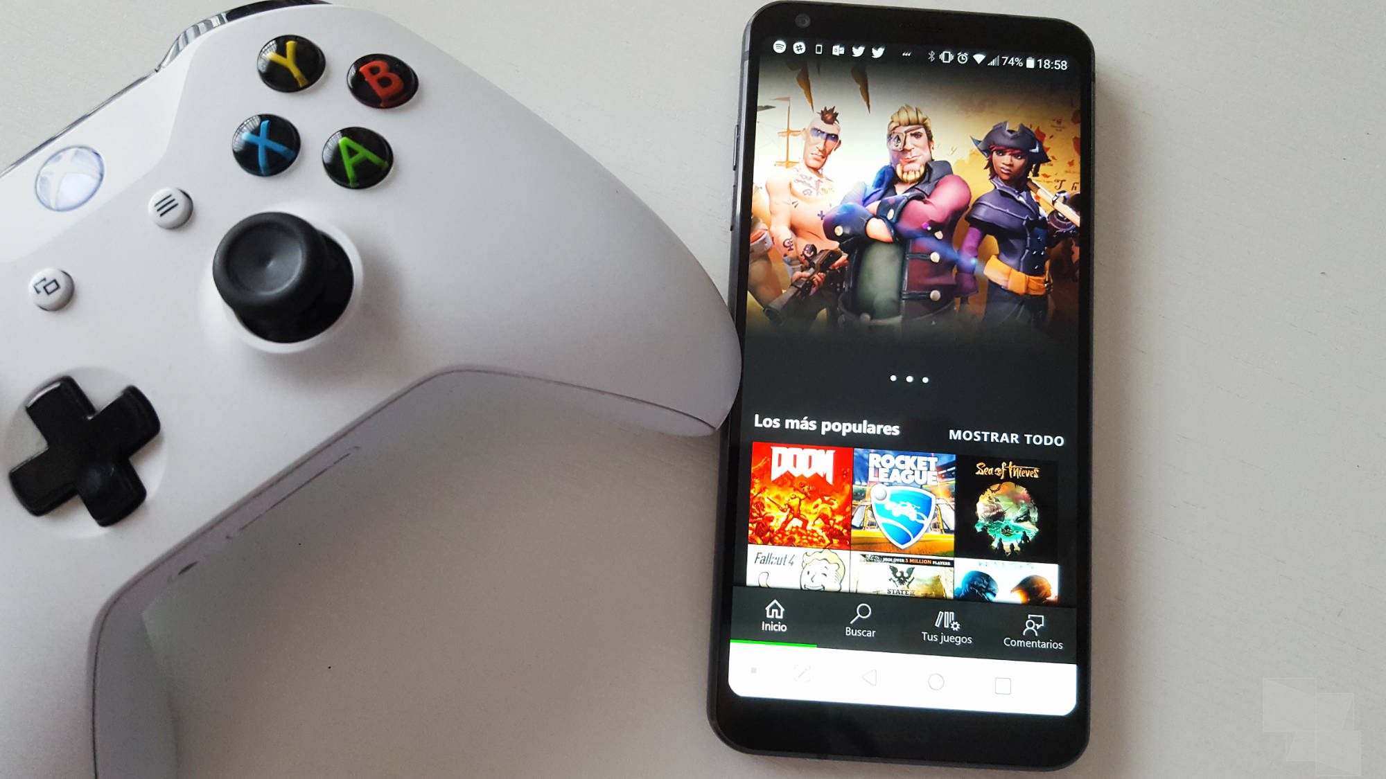 Xbox Game Pass llega a Android e iOS