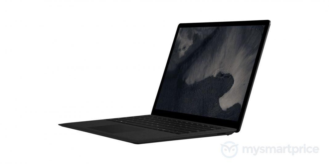 El reciente Surface Laptop podría venir además en Negro