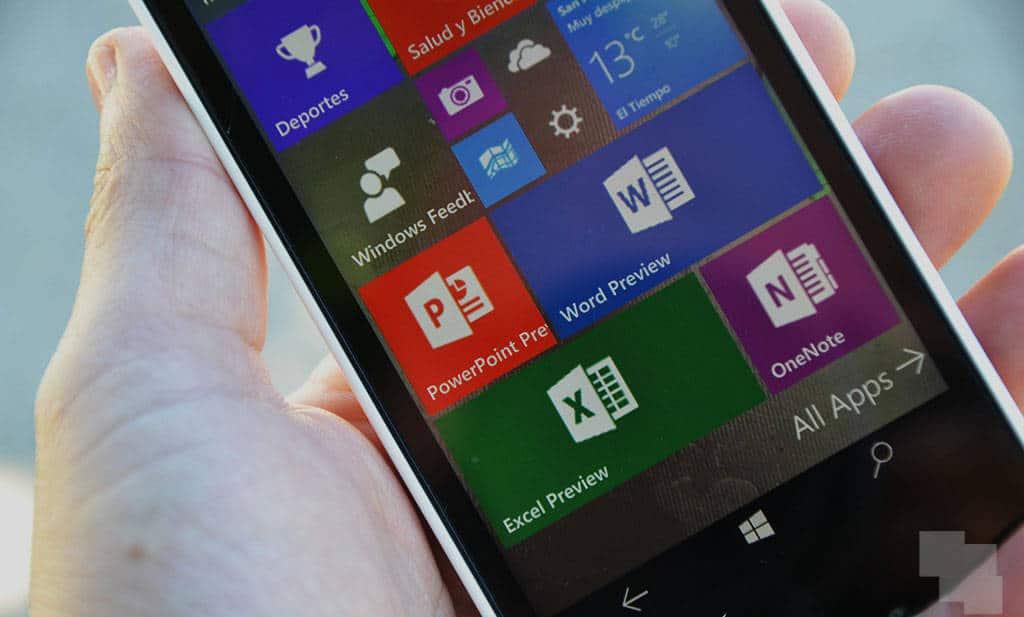 Microsoft da la puntilla a las aplicaciones UWP de Office Mobile