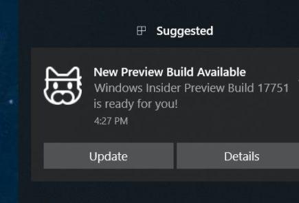 build 17551