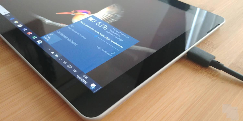 Surface Go, cargador USB Tipo C