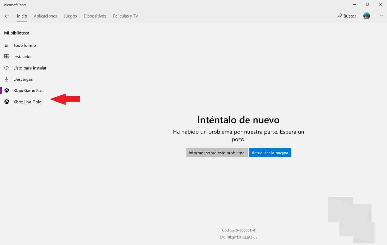 Suscripciones tienda Windows 10