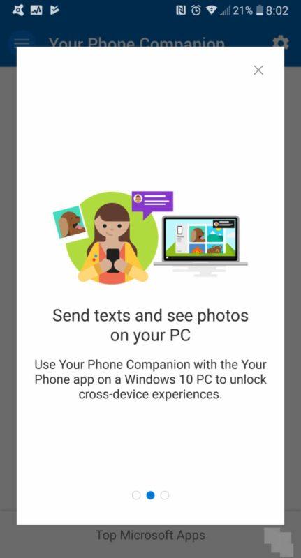 Your Phone Companion, así es la nueva aplicación para Android