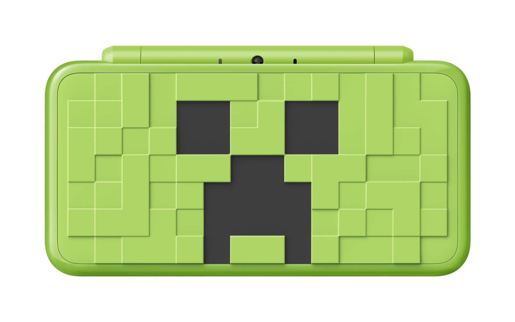 Nintendo 2DS XL Creeper Edition