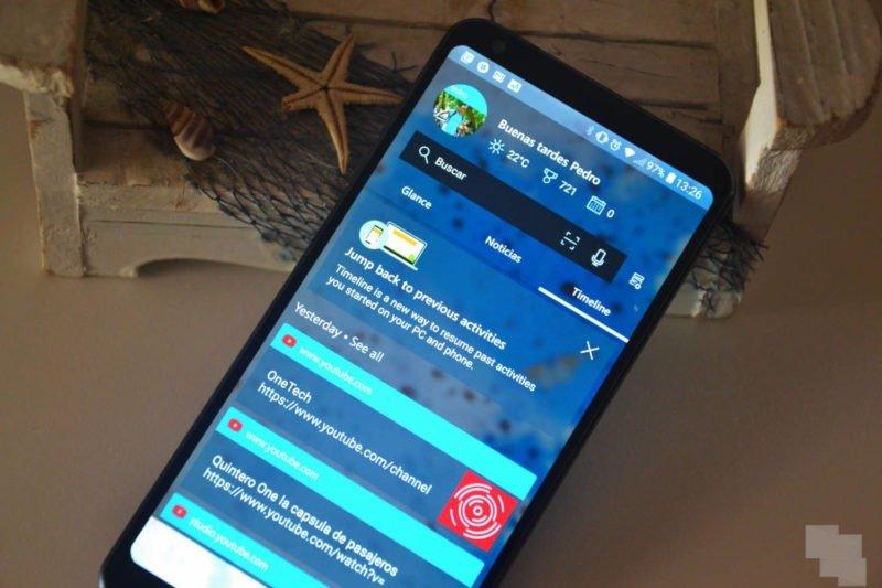 Ya cuentas con Timeline en Android con Microsoft Launcher