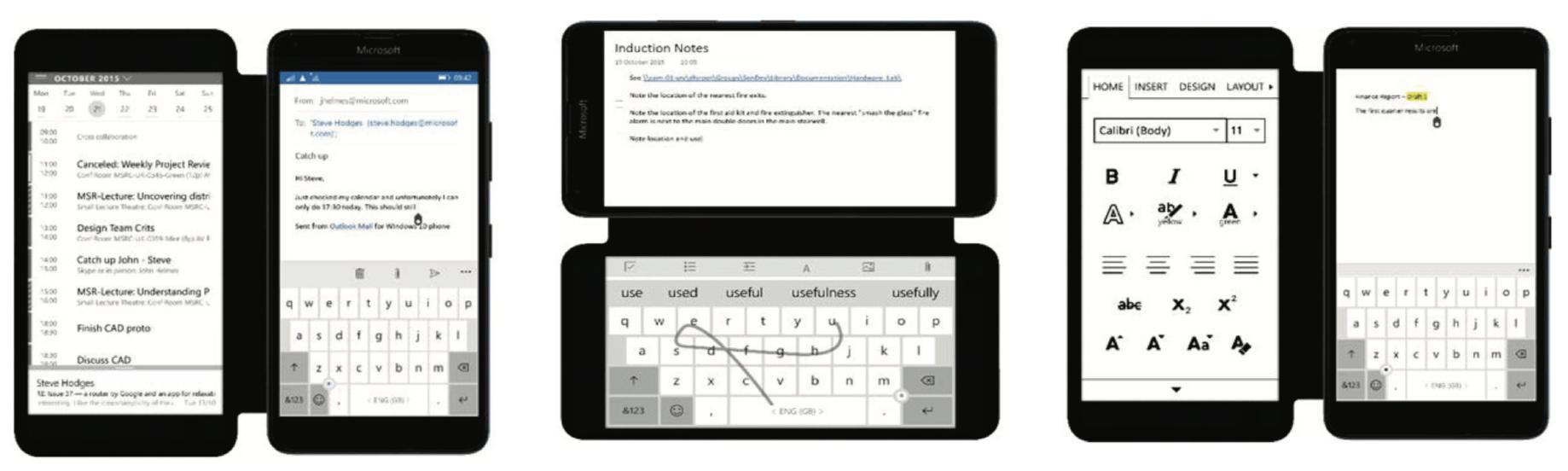 Microsoft Research muestra una cubierta para móvil que funciona como una segunda pantalla