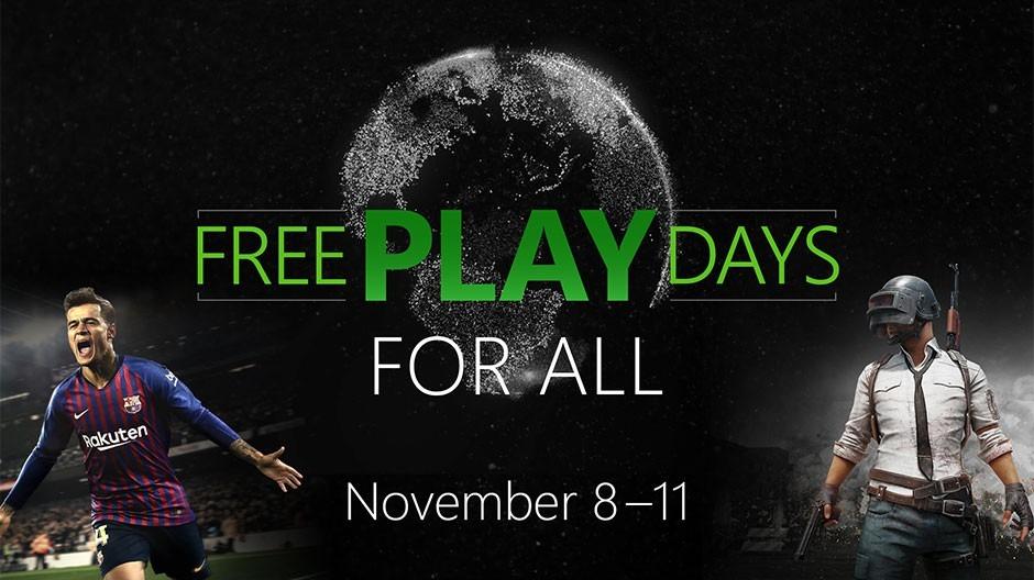 Juega gratis a PUBG y PES 2019 en Xbox One hasta el 11 de Noviembre