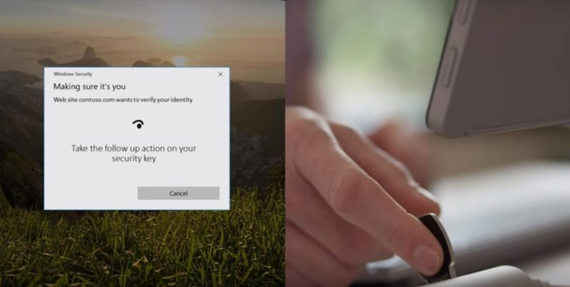 Ya puedes iniciar sesión en tu cuenta Microsoft con una llave FIDO2