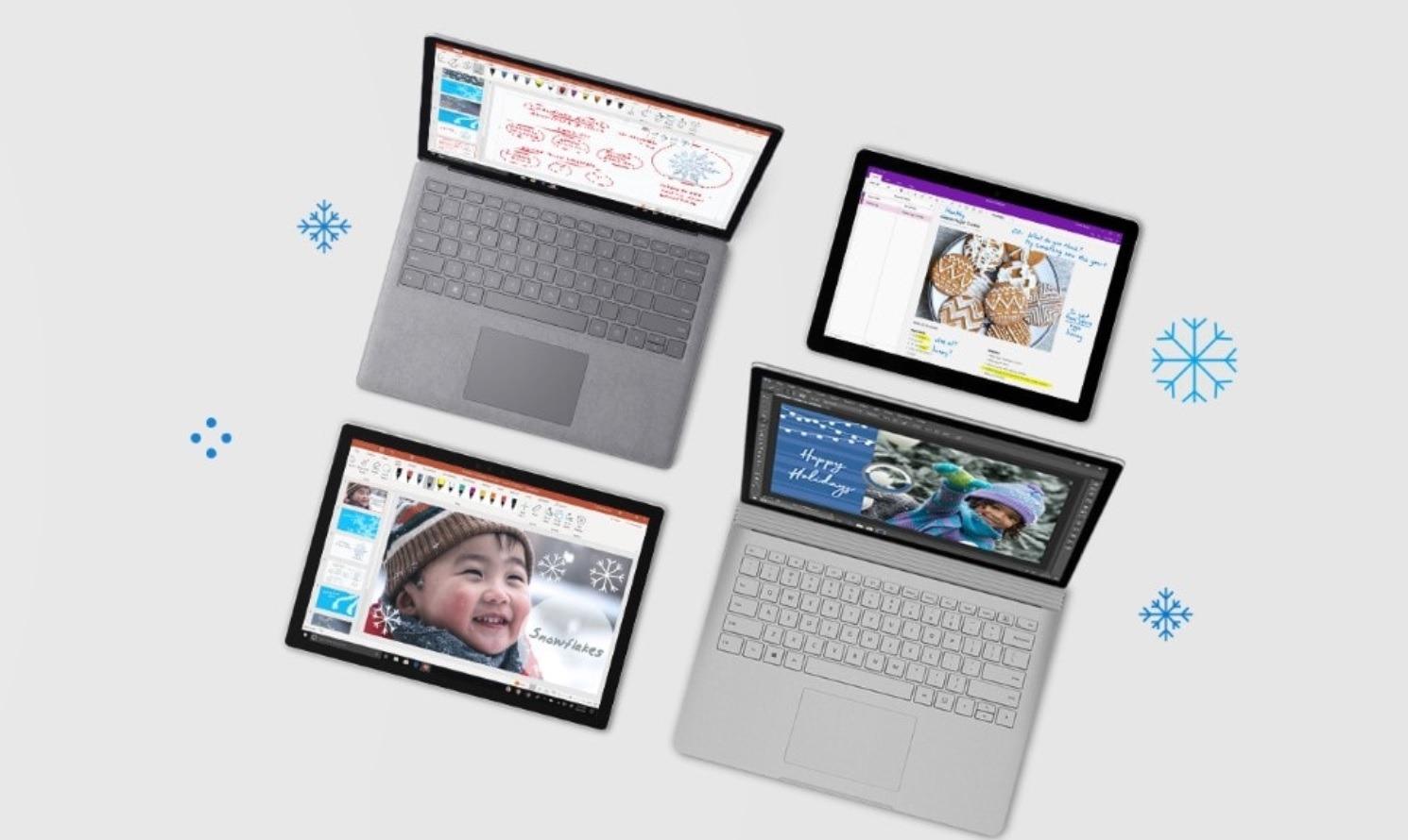 Aprovecha los descuentos  de hasta el 40% en la Microsoft Store