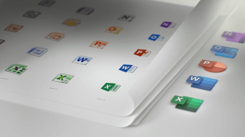 Office nos muestra sus rediseñados iconos y te van a gustar