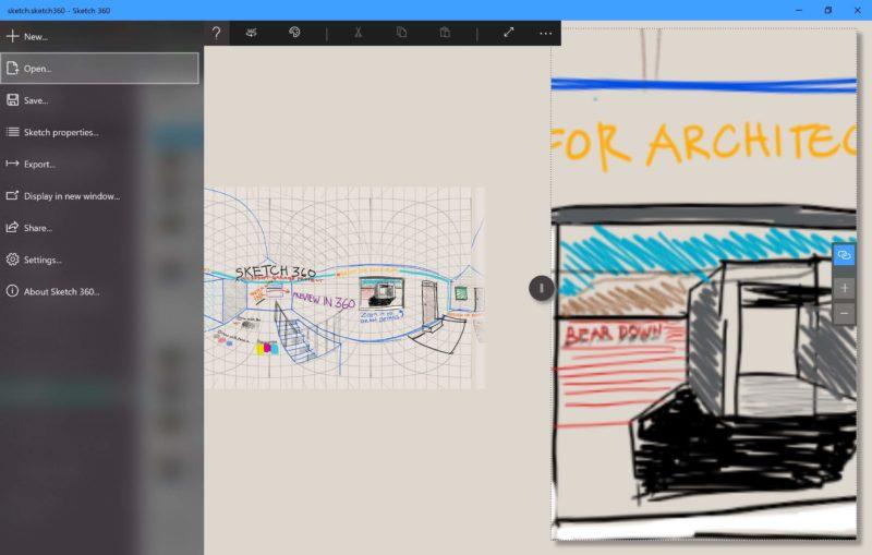 Sketch 360, la nueva app de Microsoft para diseñar en 360 grados