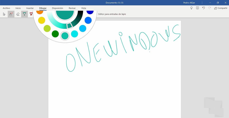 Office Mobile Insider comienza a recibir el Dial para selección de color