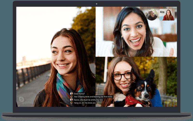 Skype ya permite difuminar el fondo en las videollamadas